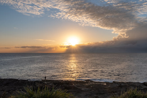 Sunrise photo from the 27th July 2019 at Queenscliff Beach in Sydney