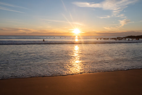 Sunrise photo from the 28th July 2019 at Manly Beach in Sydney