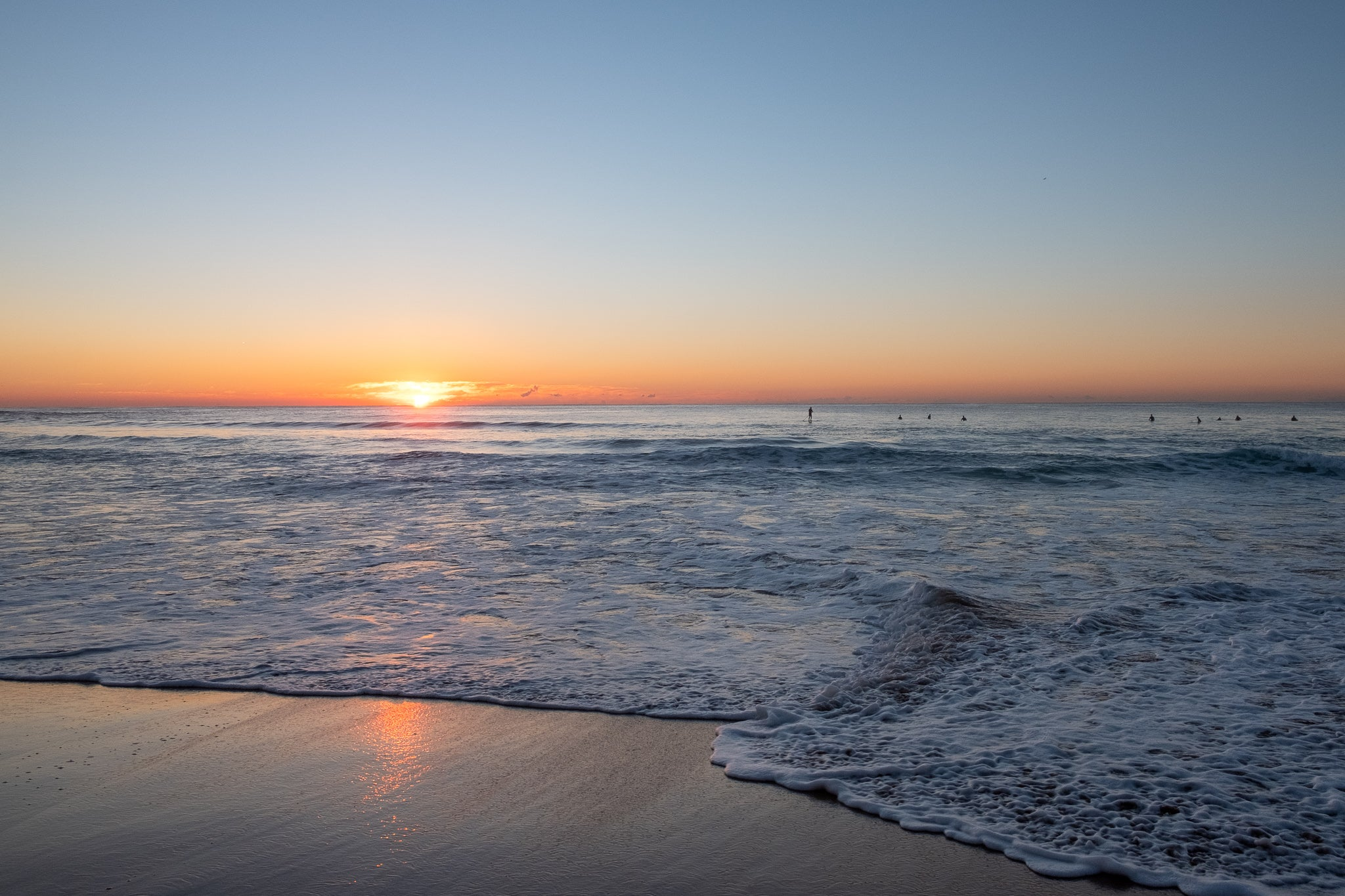 Sunrise photo from the 29th July 2019 at Manly Beach in Sydney