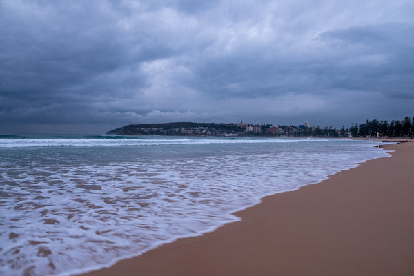 Sunrise photo from the 2nd August 2019 at Manly Beach in Sydney