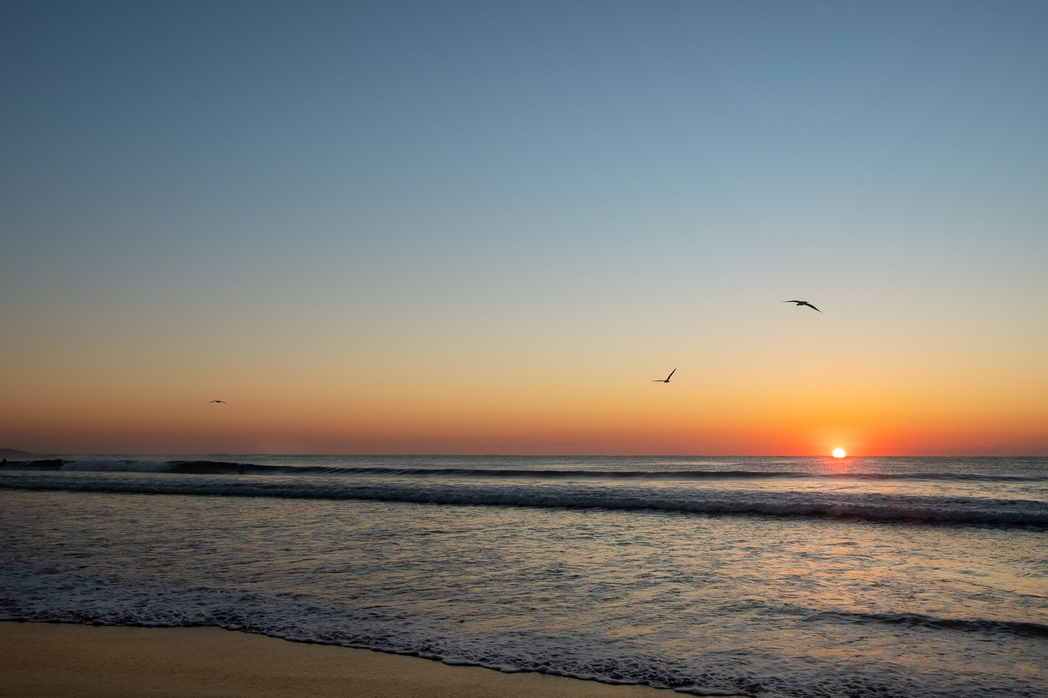 Sunrise photo from the 3rd August 2019 at Manly Beach in Sydney