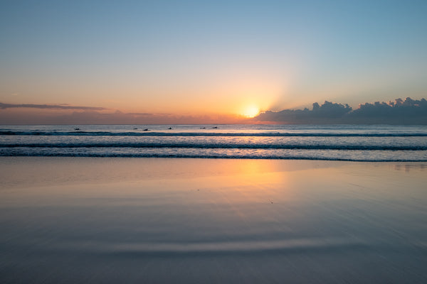 Sunrise photo from the 5th August 2019 at Manly Beach in Sydney