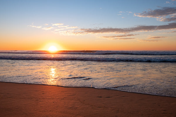 Sunrise photo from the 16th August 2019 at Manly Beach in Sydney