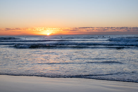 Sunrise photo from the 19th August 2019 at Manly Beach in Sydney