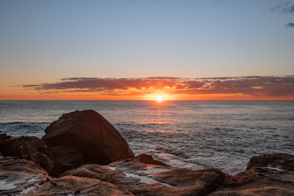 Sunrise photo from the 2nd September 2019 at Queenscliff Tunnel in Sydney
