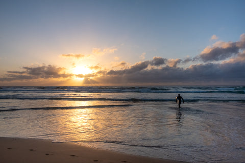 Sunrise photo from the 6th September 2019 at Manly Beach in Sydney