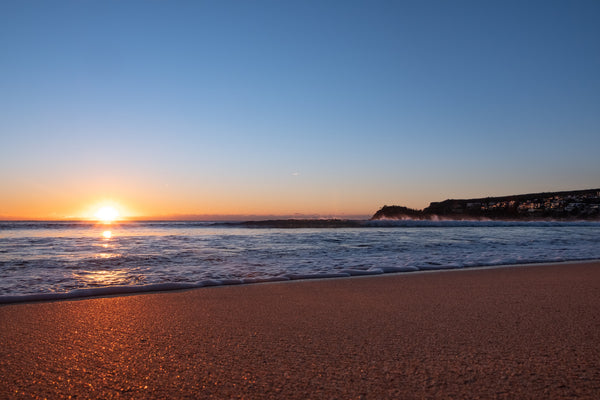 Sunrise photo from the 8th September 2019 at Manly Beach in Sydney