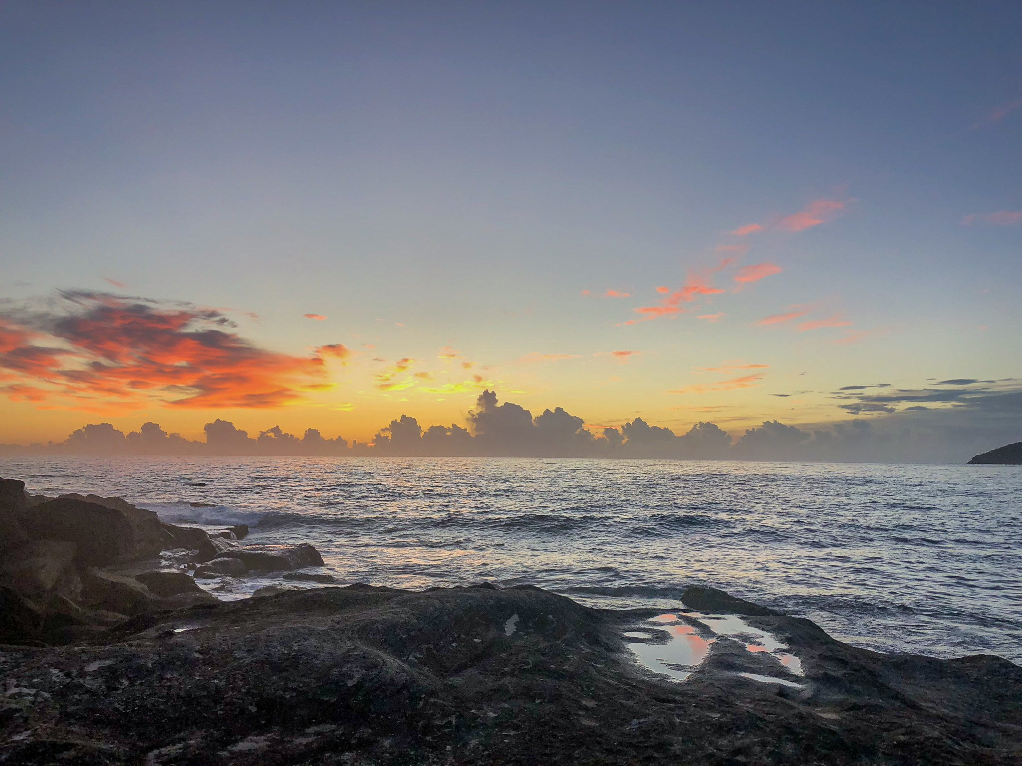 Sunrise photo from the 6th February 2019 from Queenscliff headland in Sydney
