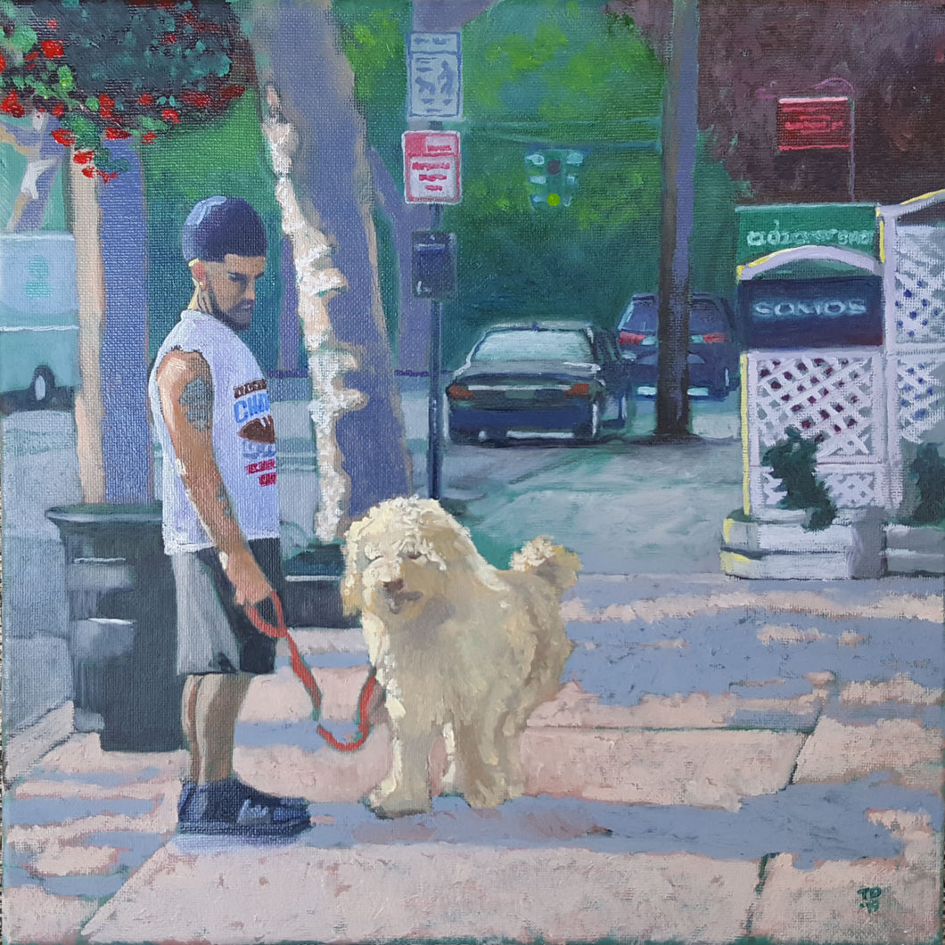 A Dawg and His Boy (Nyack 2018) by T. Andrew Dempsey