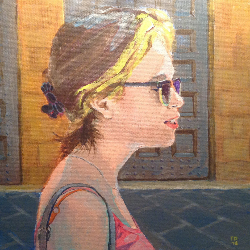 The Artist's Daughter (Tuscany) 2019 by T. Andrew Dempsey