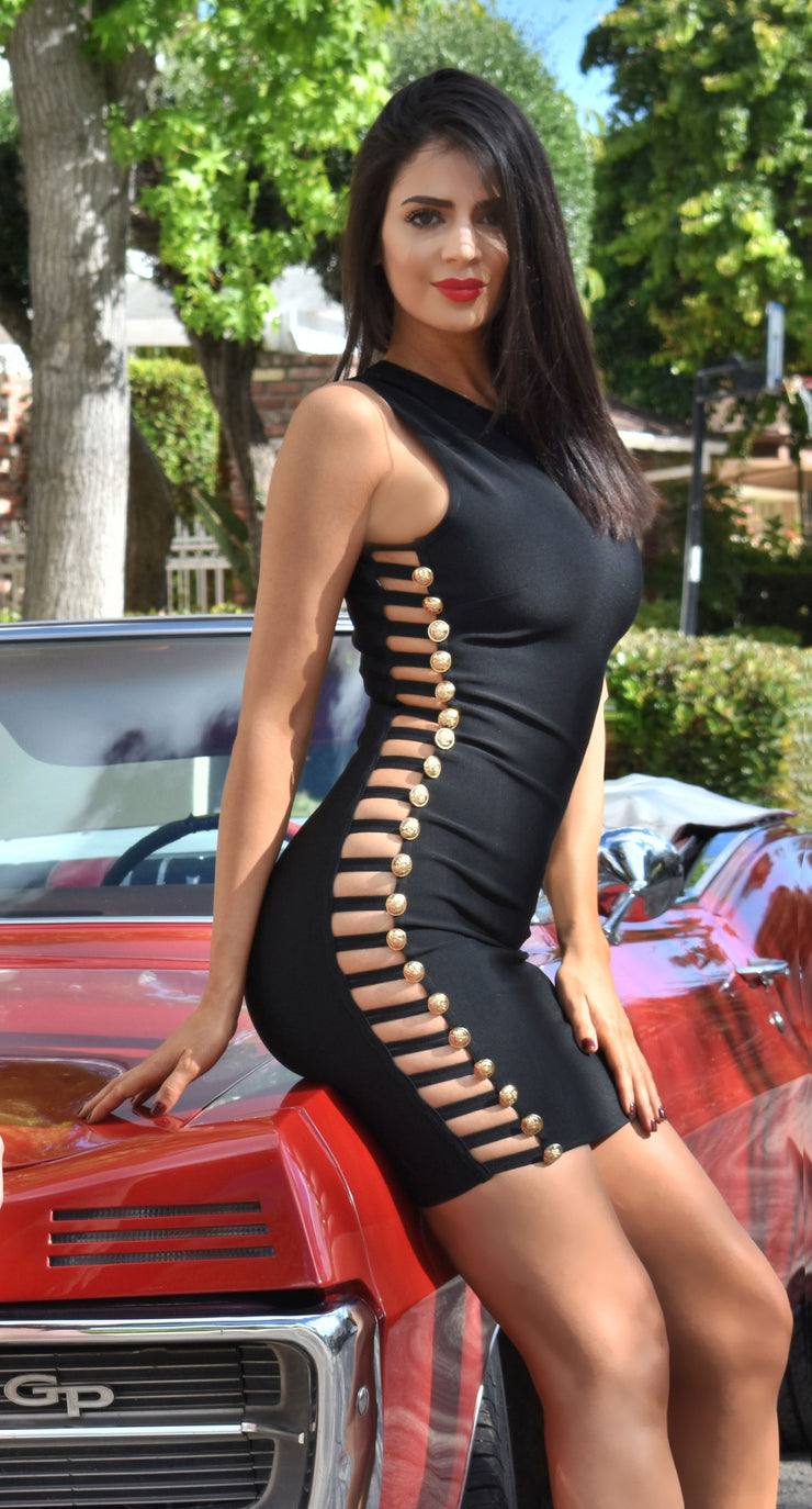 HOTTIE BANDAGE  DRESS