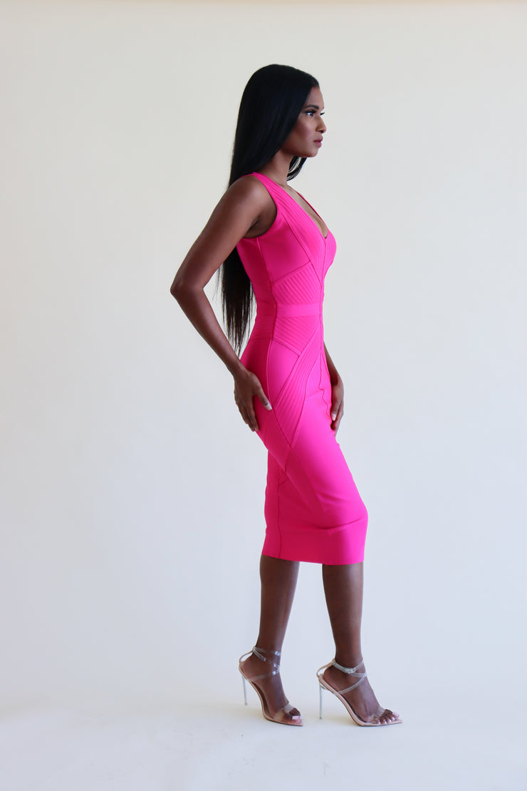 NORA BANDAGE DRESS