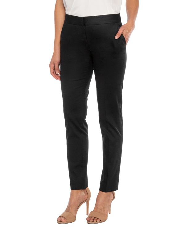 """GWEN1"" Slim Pant in Brushed Cotton Twill Pant"