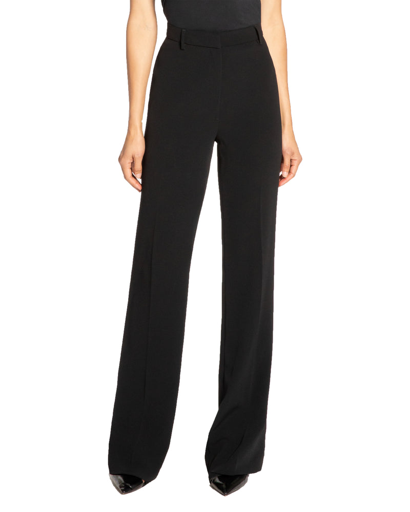 """CAMILLE"" Straight Leg Pant in Soft Crepe"