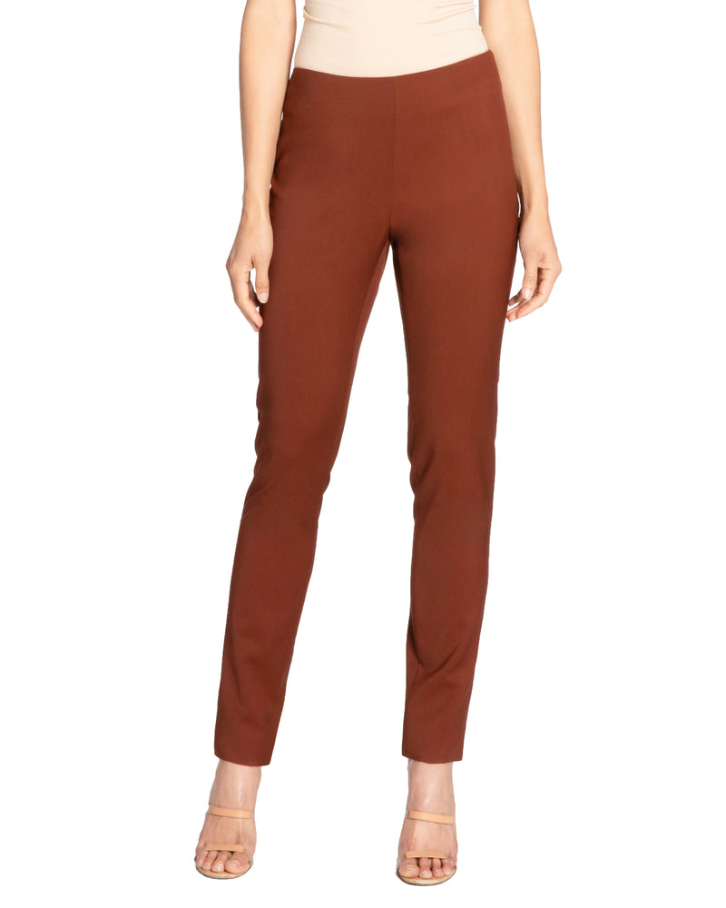 """CECE2"" Slim Pant in Wool Stretch"