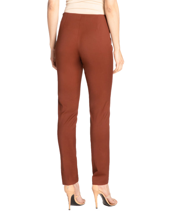 """CECE2"" Slim Pant in Wool Stretch Pant"