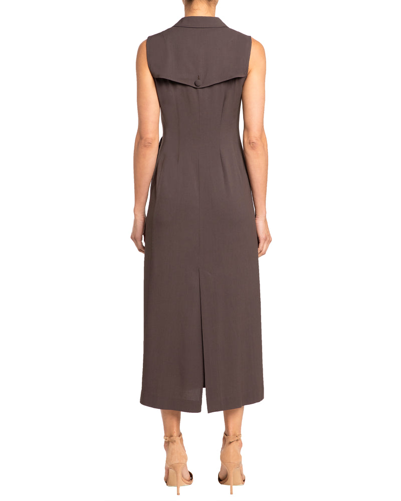 """LYDIA"" Wrap Belted Sheath Dress"