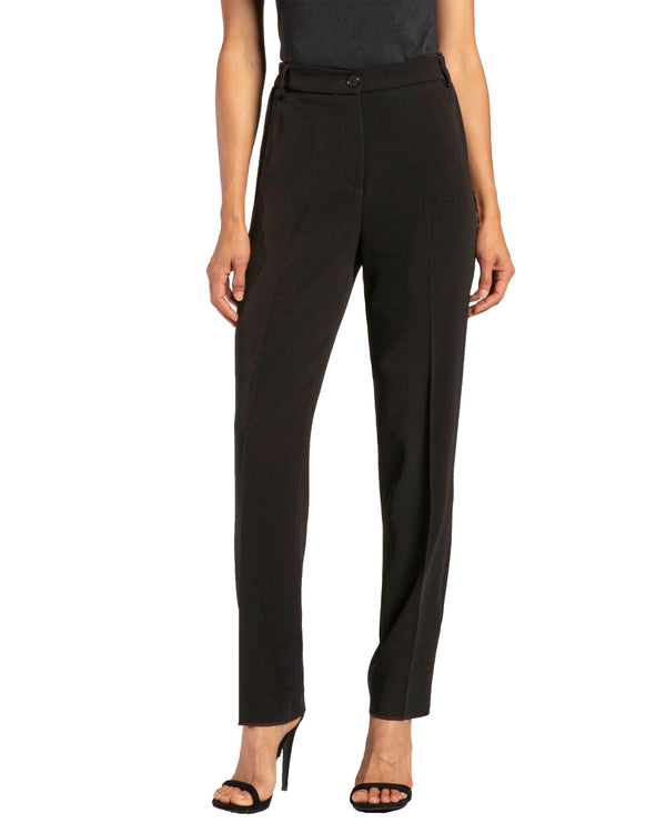 Slim Leg Pant with Elastic Waist Back