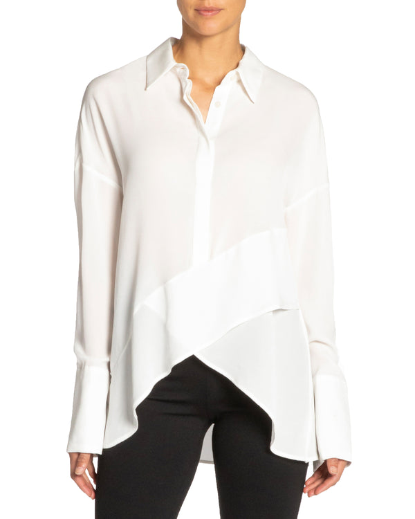 """PERLA"" Drop Shoulder Oversized Top"