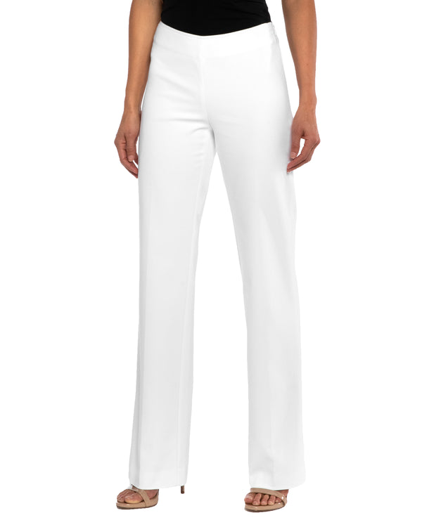 """PRIX"" Straight Leg Pant in Cotton Stretch"