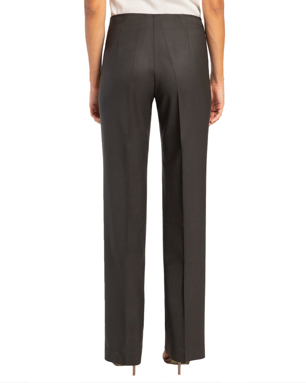 """PRIX"" Straight Leg Pant in Wool Stretch"