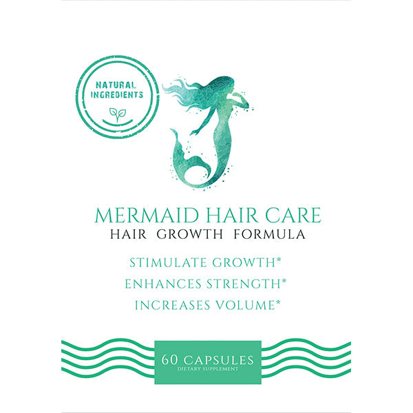 Mermaid Hair Vitamins- 6 Month