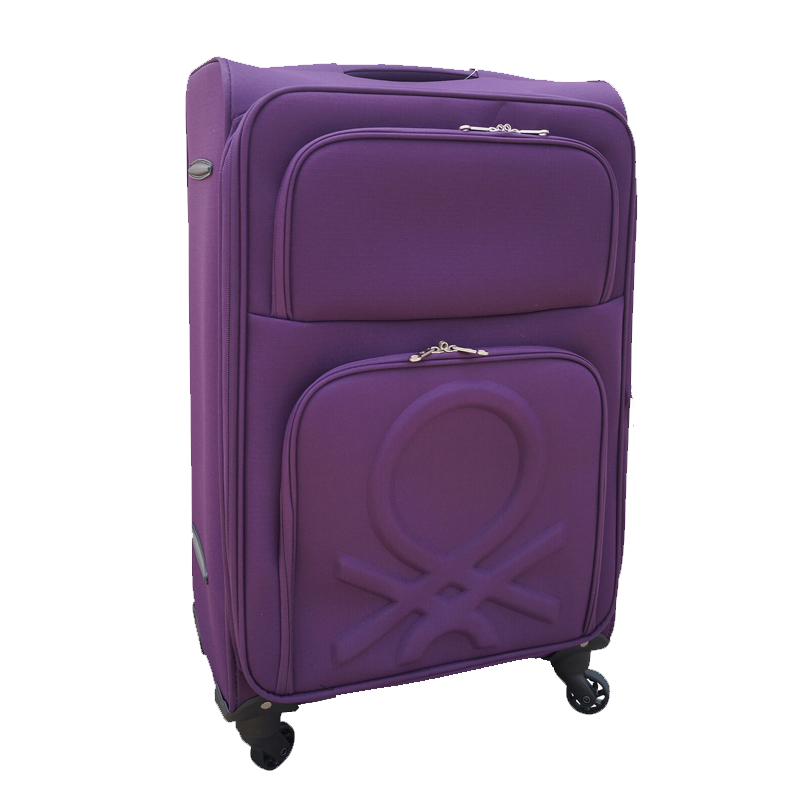 new high more photos where to buy United Colors of Benetton Purple Trolley Suitcase – Exalon Promotions