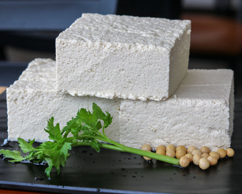 Fresh Tofu Blocks - Made In-House