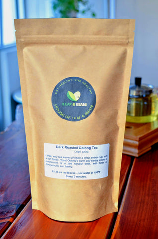 Dark Roasted Oolong Loose Leaf Tea ~ Premium