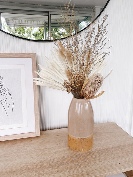 Limited Edition - Mini Dried Banksia Arrangement (Natural)