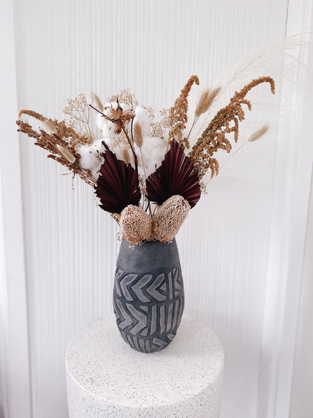 Limited Edition - Grand Dried Burgundy Bouquet