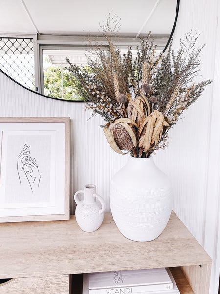 Limited Edition - Dried Banksia Bouquet (Natural)