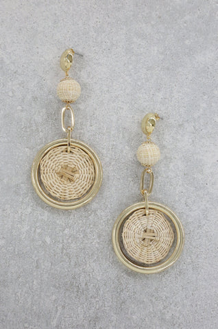 Ettika - Sandy Day Earrings