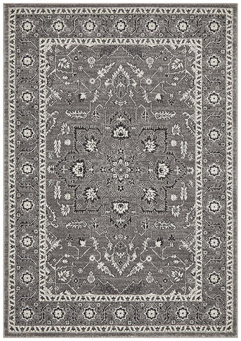 Florence Transitional Rug - Grey