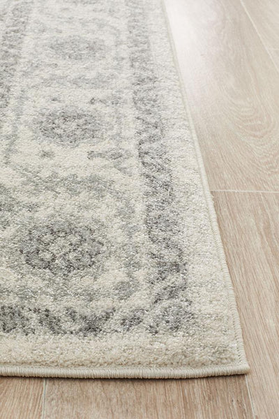 Florence Transitional Rug - White