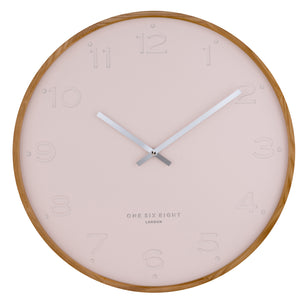Freya Wall Clock - Blush