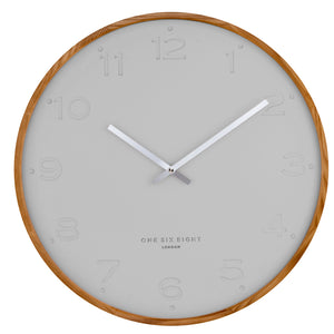 Freya Wall Clock - Grey