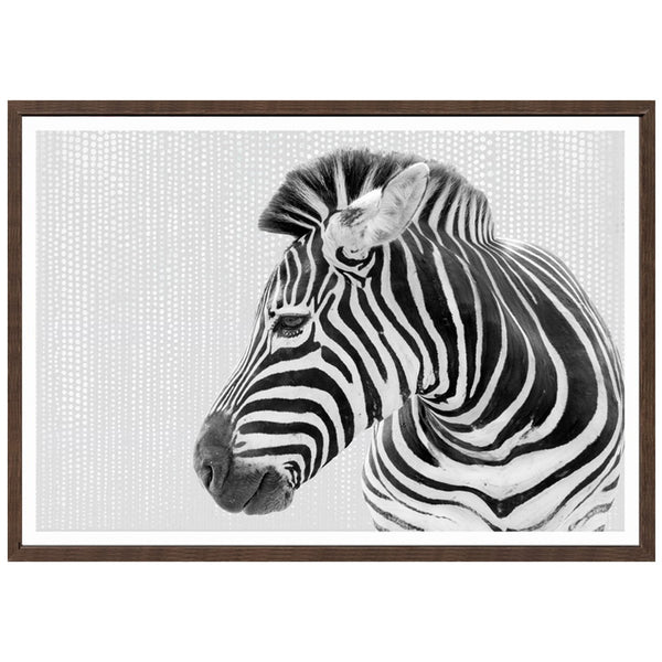 Mr Stripes Canvas Print