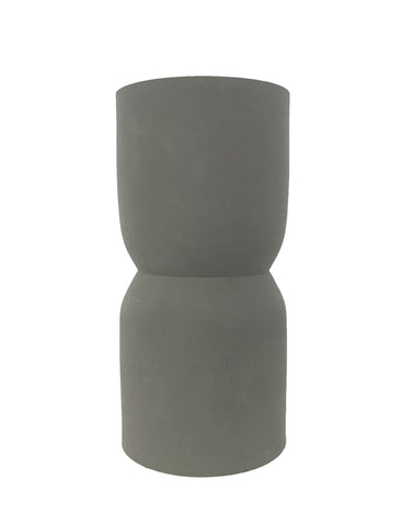 Nell Vase - Dark Grey