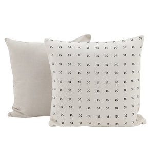 Margherita Cushion - Cream/Black