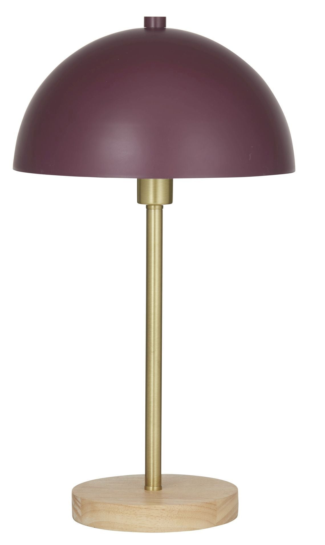 Eddie Table Lamp - Burgandy