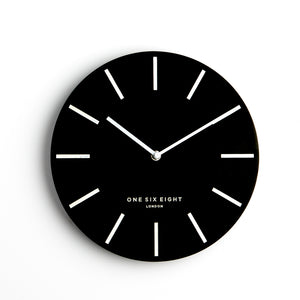 Chloe Wall Clock - Black