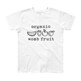 Organic Womb Fruit. Youth Short Sleeve T-Shirt
