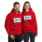Informed Choice Connecticut OFFICIAL Red Shirt. Unisex Hooded Sweatshirt