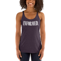 Informed. Retro. Misses Lightweight Racerback Tank