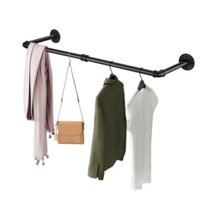 Greenstell Industrial Pipe Space Saving Clothes Rack Short (36*10 in)