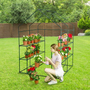 Greenstell Greenhouse Frame of Metal ( 77x56x56 inch)