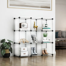 Load image into Gallery viewer, Greenstell DIY Cube Storage 9 Cubes White
