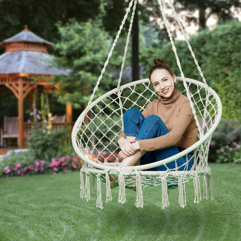Greenstell Hammock Chair Outdoor Use
