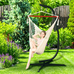 Greenstell Hammock Chair Swing Chair Stand Max Load 150KG